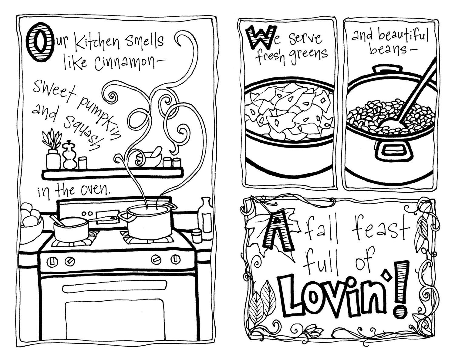 Colouring pages kitchen - Find This Pin And More On Designz And Artz Kitchen Coloring Page