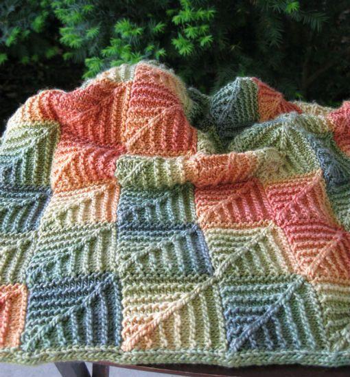 Тунисское вязание крючком пледы подушки покрывала схемы 301