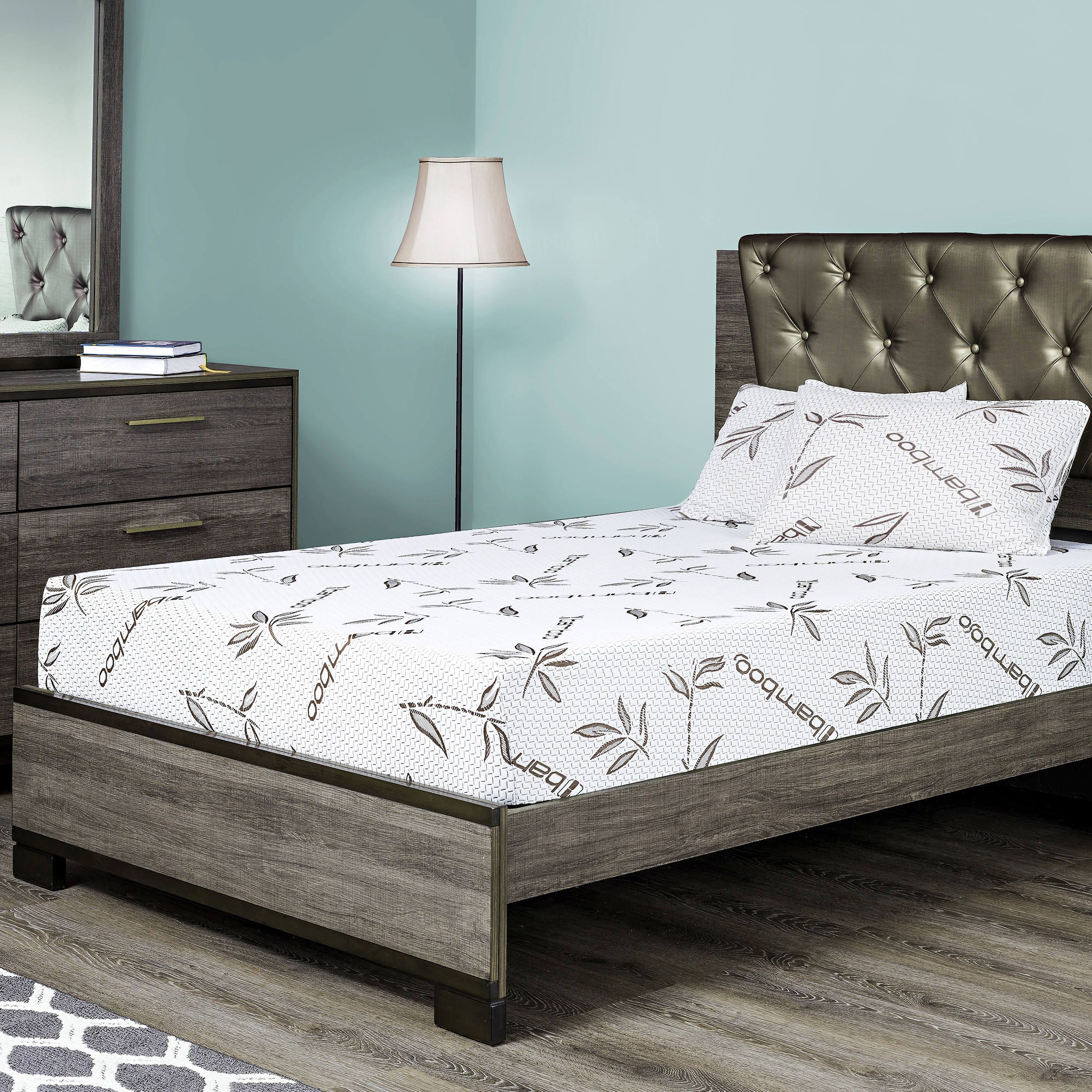 fortnight bedding 8 gel memory foam mattress w bamboo cover cot