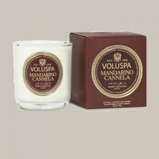 Bougie Voluspa Mandarino Cannela