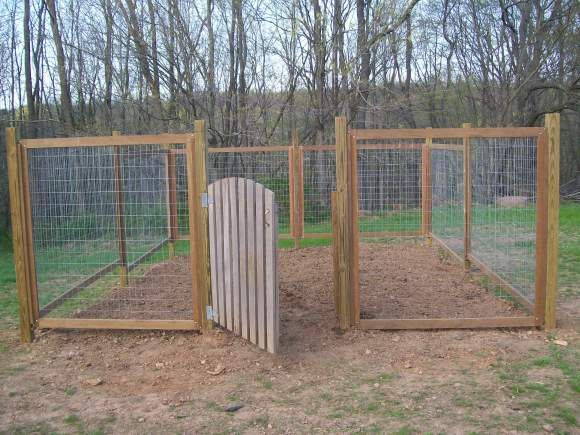 Charming Fence For Our Vegetable Garden