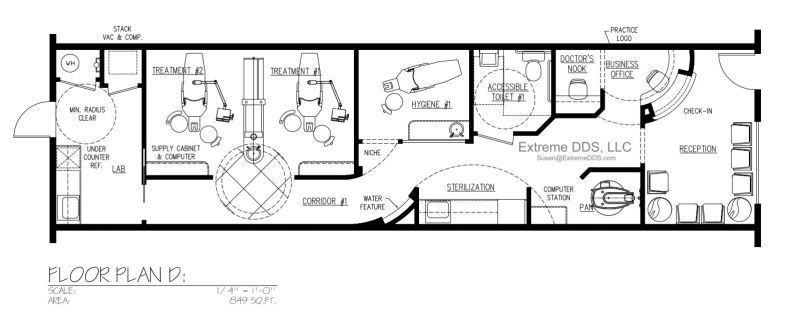 Charmant Family And General Dentistry Sample Floor Plans, From 800 To Sq.