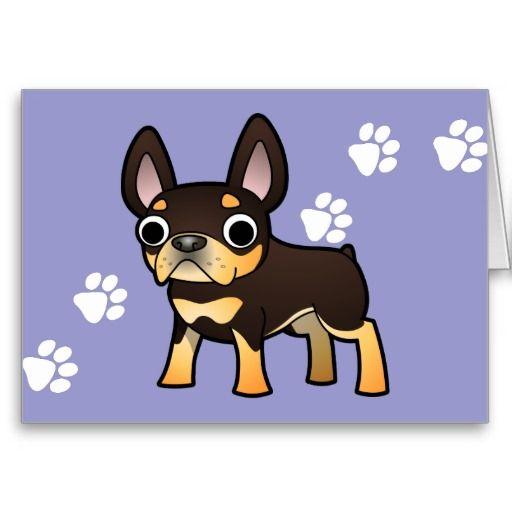 Cartoon French Bulldog Black And Tan Zazzle Com French