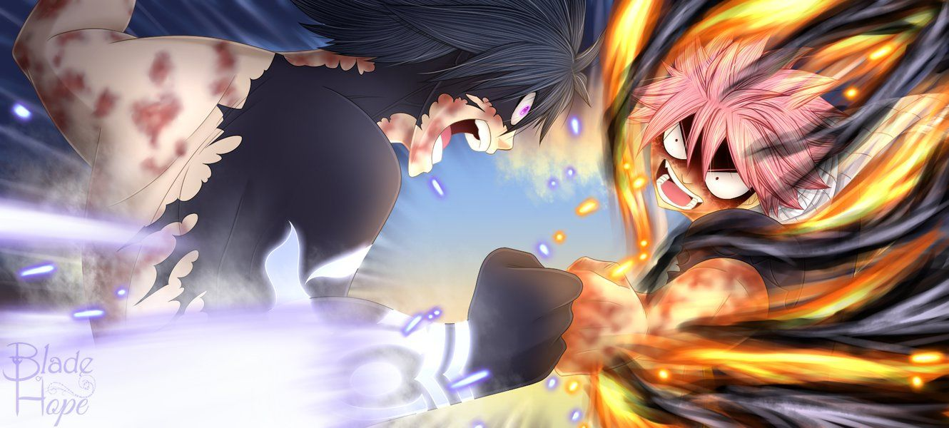Gray Vs E N D By Blade Of Hope Fairy Laxus Dreyar Zeref