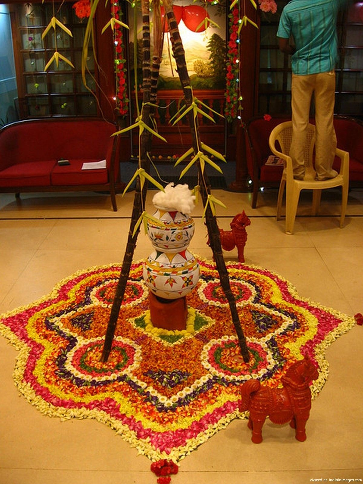 office celebrate pongal festival by sowri decor for pongal i91 decor