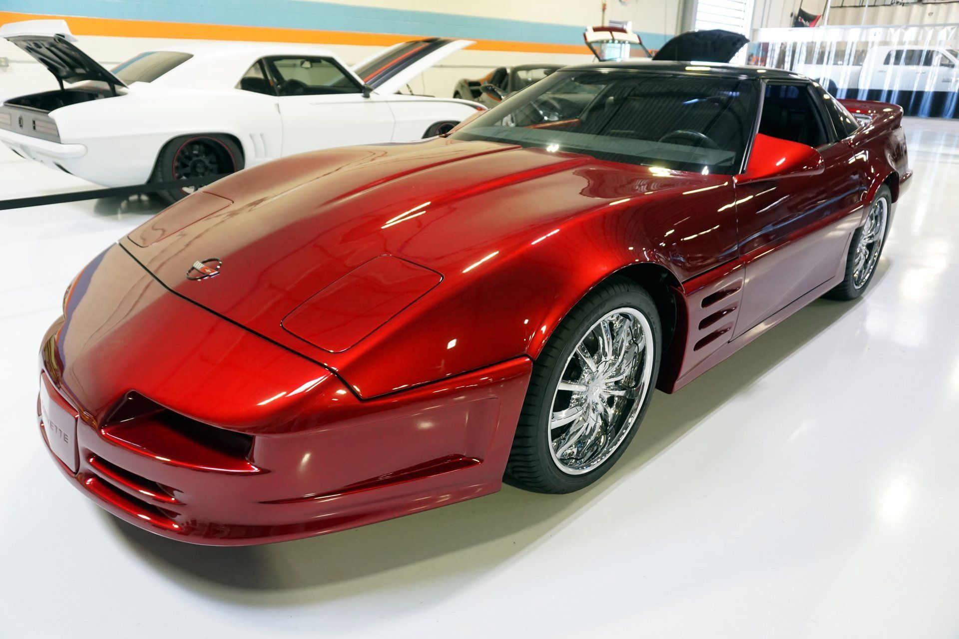 You Could Own This Highly Custom C4 Corvette Concept Corvette Red Corvette Chevrolet Corvette C4