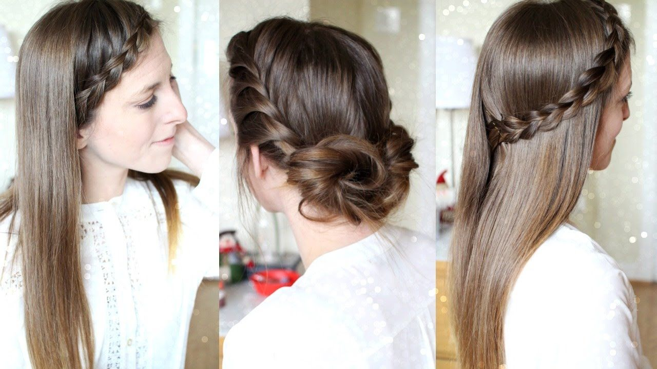 quick and easy heatless hairstyles pretty hairstyles