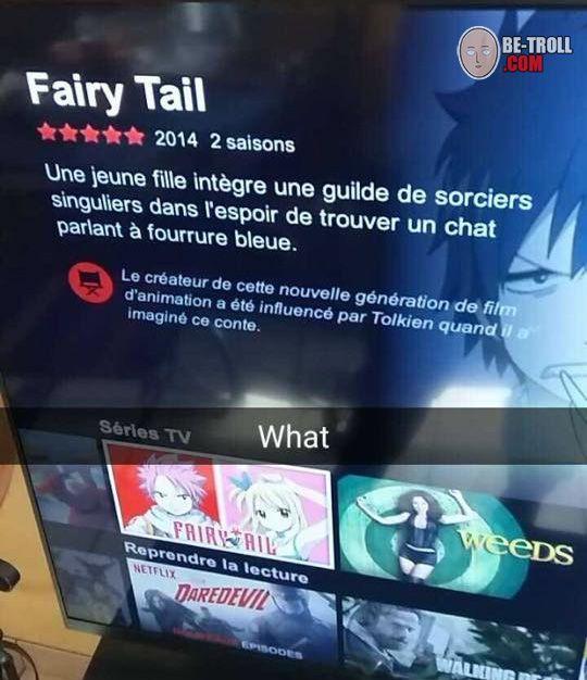 Résumé de Fairy Tail par Netflix... - Be-troll - vidéos humour ...
