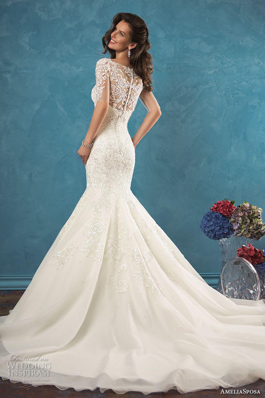 Amelia Sposa 2017 Wedding Dresses | Amelia sposa, Wedding dress and ...