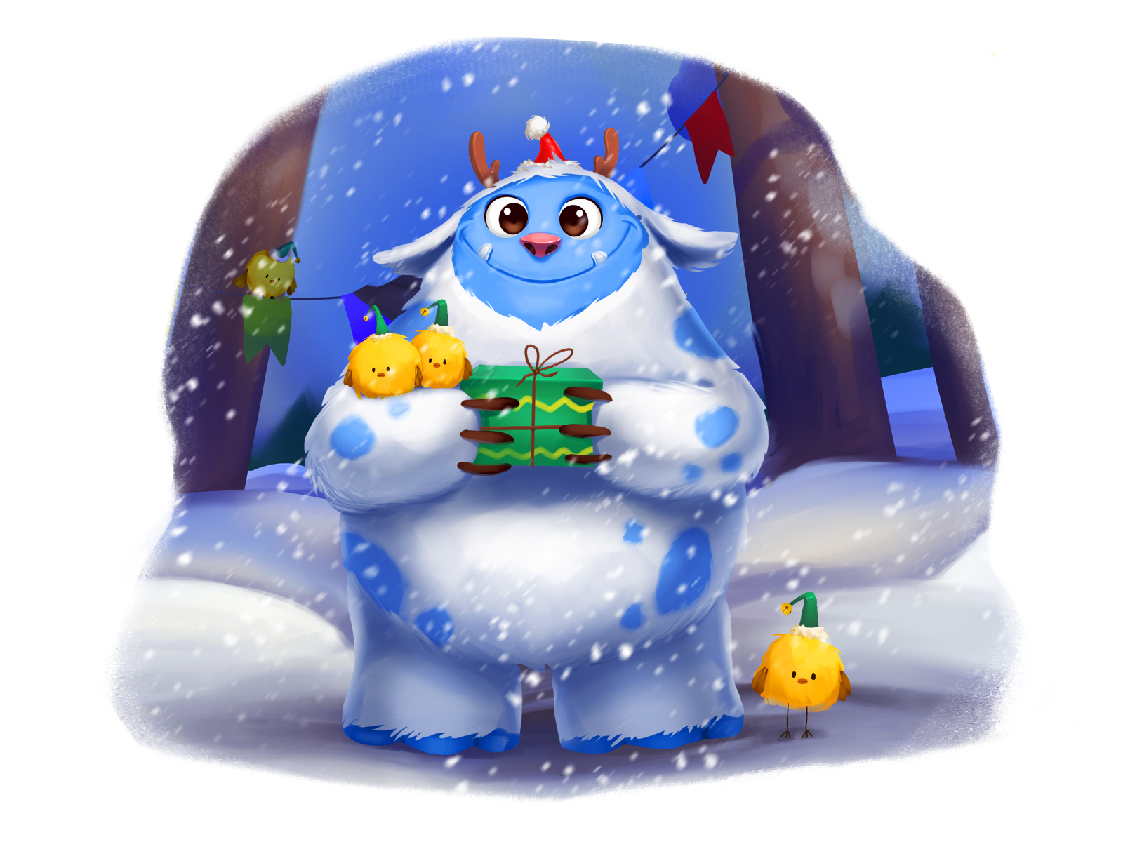 Winter Wonderland New 40+ Illustrations of Christmas and