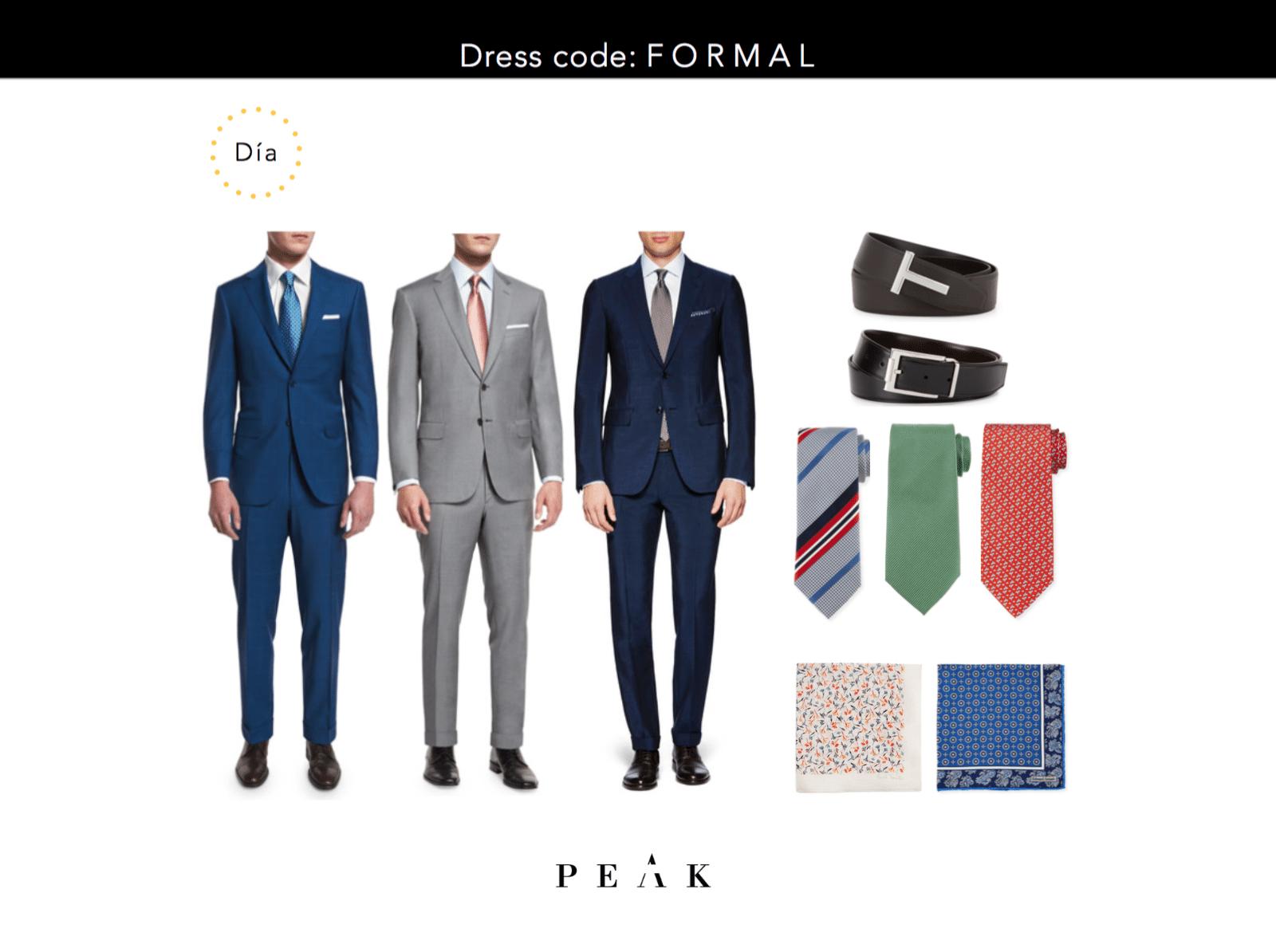 Dress Code Formal Boda Da Si Vas A Asistir Una Boda De Da Y El