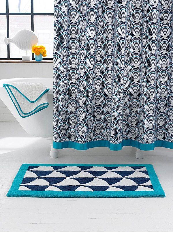 Duschvorhang Modern skalenmuster duschvorhang badezimmer