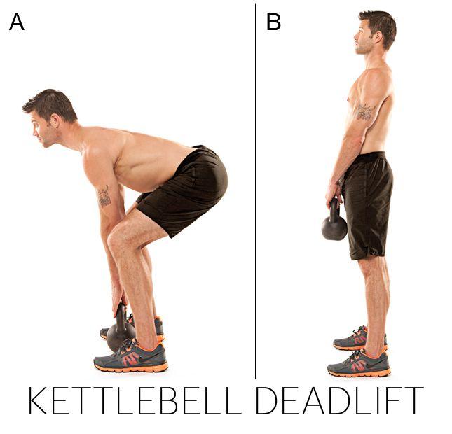 Exercise Kettlebell Deadlift: Change The Shape Of Your Body