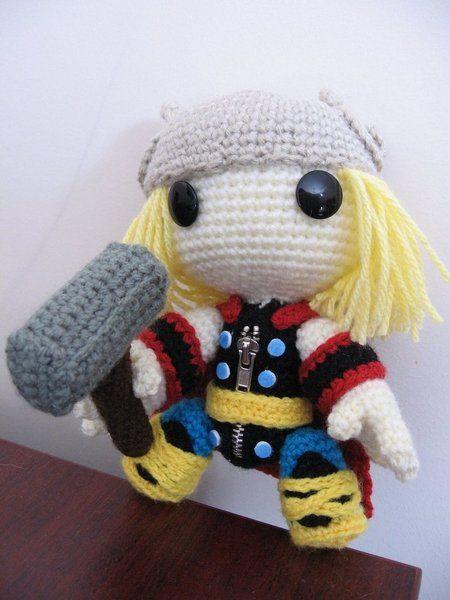 Sackboy Thor by Anjelicimp | sackboy (LBP) | Pinterest | Handarbeiten