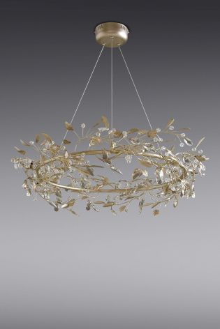 Buy blossom 9 light gold finish chandelier from the next uk online buy blossom 9 light gold finish chandelier from the next uk online shop aloadofball Gallery