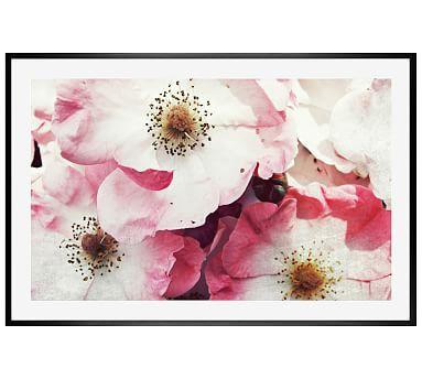 """Vintage Roses by Lupen Grainne, 42 x 28"""", Wood Gallery, Black, Mat"""