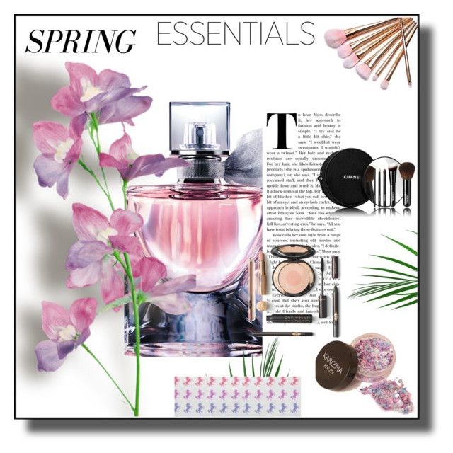 """""""Spring Perfume"""" by sabine-promote ❤ liked on Polyvore featuring beauty, Lancôme and Chanel"""