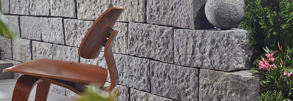 Gartenmauern selber bauen Anleitung in 8 Schritten Garten Pinterest