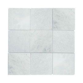 Marbre Blanc 10 X 10 Cm Tiles Shower Surround Kitchen Tiles