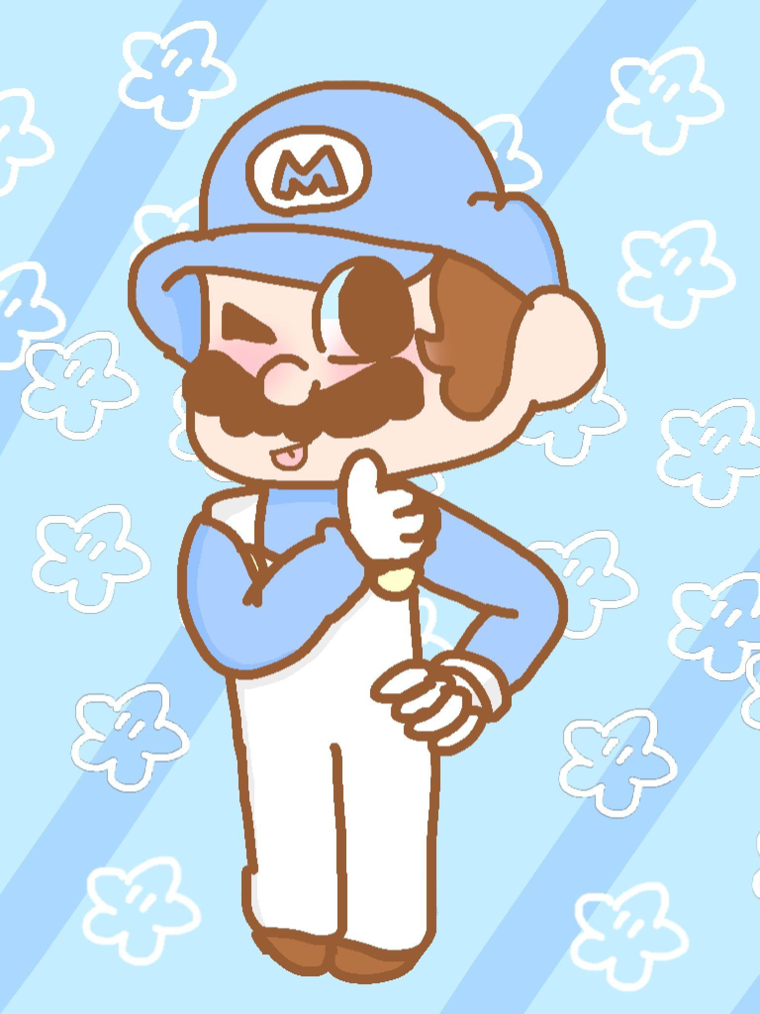 Fan art of SMG4   SMG4!   Fan art, Super mario, Art