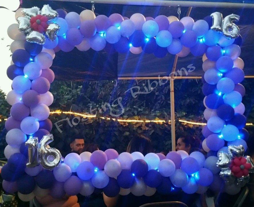 Sweet 16 Balloon Photo Frame | Quinceañera/ Sweet 16 | Pinterest ...