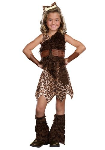 Child Cave Girl Cutie Costume Maybe Sophias Costume For -1452