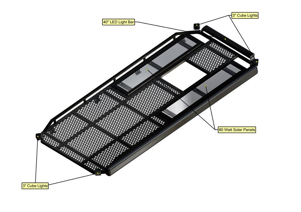 07 Sprinter Van Aluminum Roof Rack 144 Aluminum Roof Roof Rack Sprinter Van