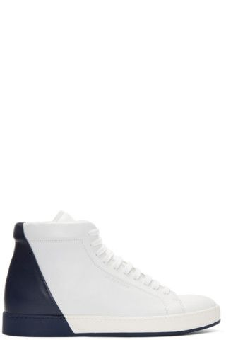 Jil Sander White Special Mid Sneakers dC51PqHR