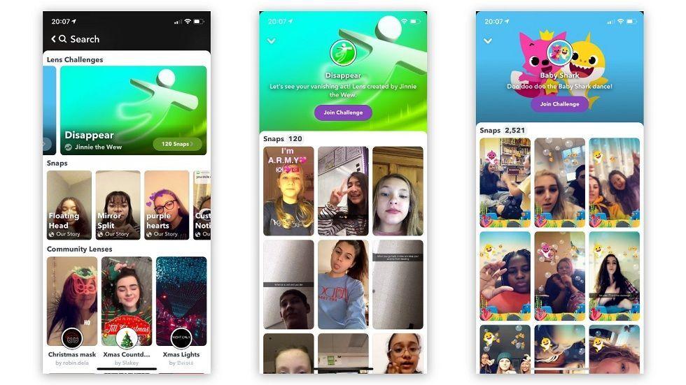 Snapchat Lens Challenges! To Compete TikTok & Instagram