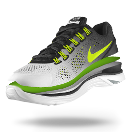 4d6d8f81fd7f Design your own shoe! NIKEiD. Custom Nike LunarGlide+ 4 iD Women s Running  Shoe