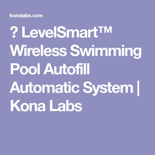 Levelsmart Wireless Swimming Pool Autofill Automatic System
