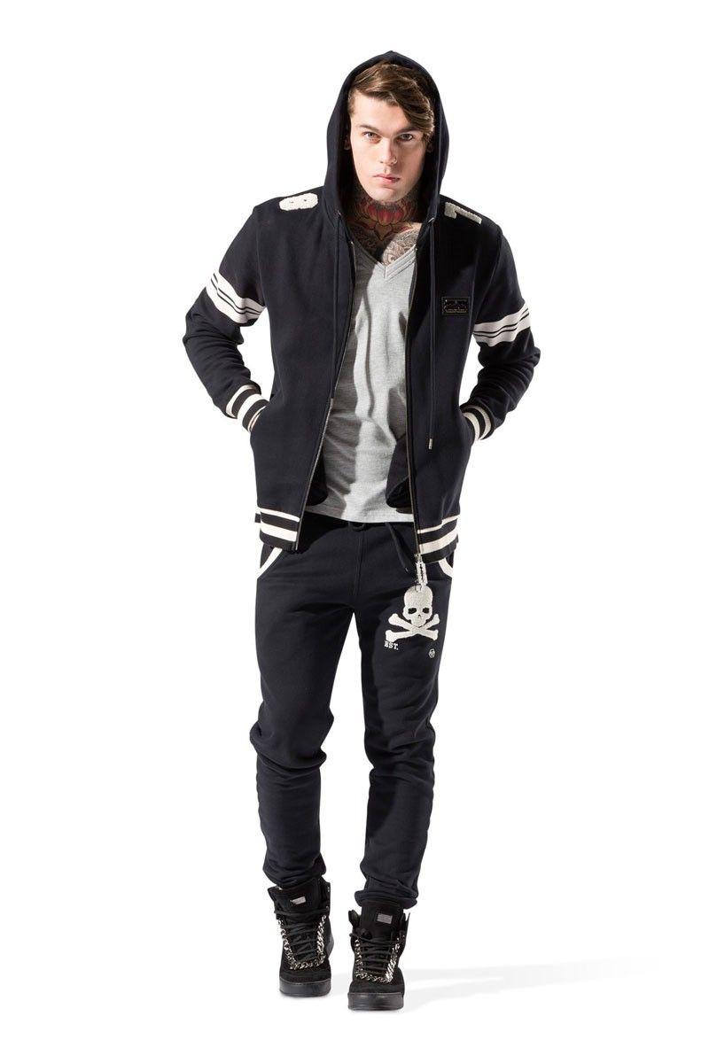 Philipp Plein | Killer Hooded Jacket Black | Men Hoodies Online ...