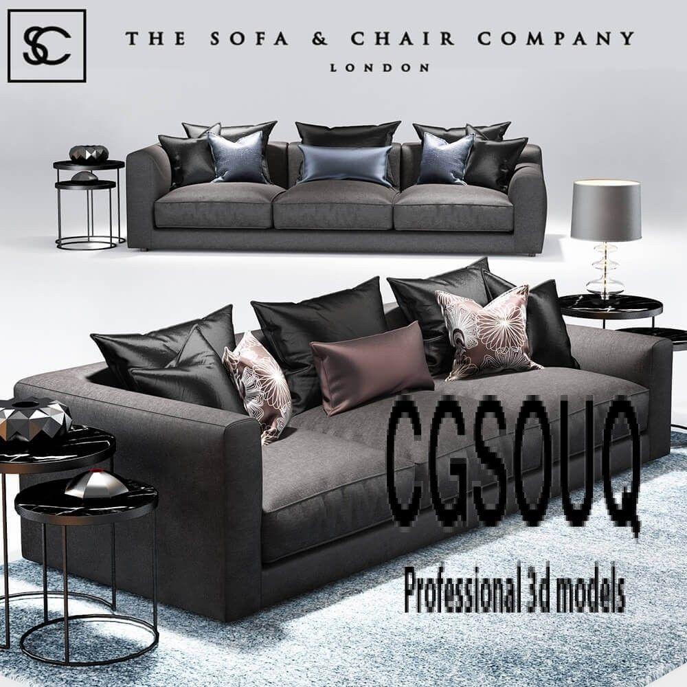 Elis Sofa The Sofa And Chair Company 3d Model Sofa Chair Company Sofa Furniture