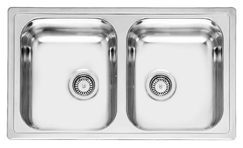 Reginox Diplomat 20 Double Bowl Sink Rl218s