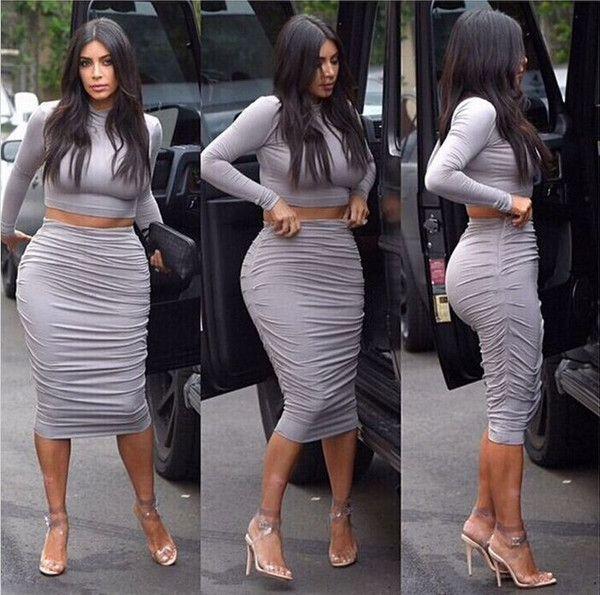 Vestidos casuales de kim kardashian