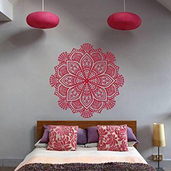 ik368 Wall Decal Sticker Room Decor Wall Art Mural mandala hamsa ...
