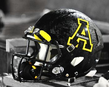 Appalachian State Football Helmet Picture at Appalachian