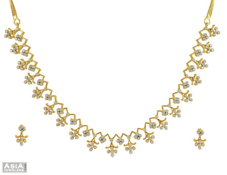 Diamond necklace indian jewelry pinterest diamond diamond