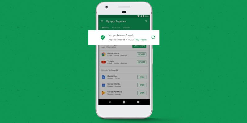 Google Takes On Android Malware Head On With Play Protect Malicious Google Play Sms Message