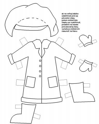 Veľká bábika oblečenie 3