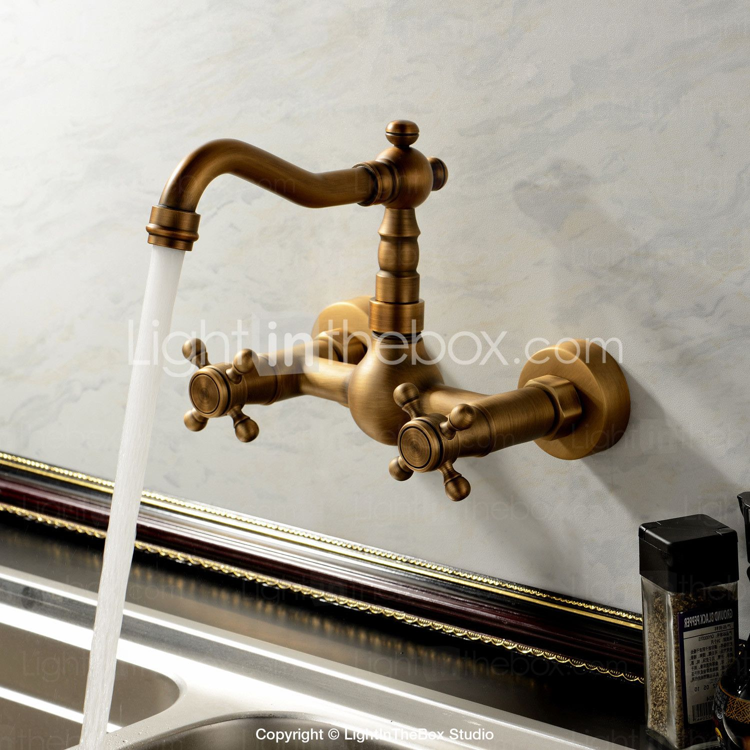 Sprinkle Kitchen Faucets Antique Traditional with Antique