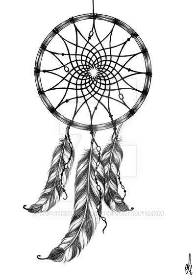 Dreamcatcher Tattoo Design By RozThompsonArtdeviantart On Stunning Dream Catcher Tattoo Prices