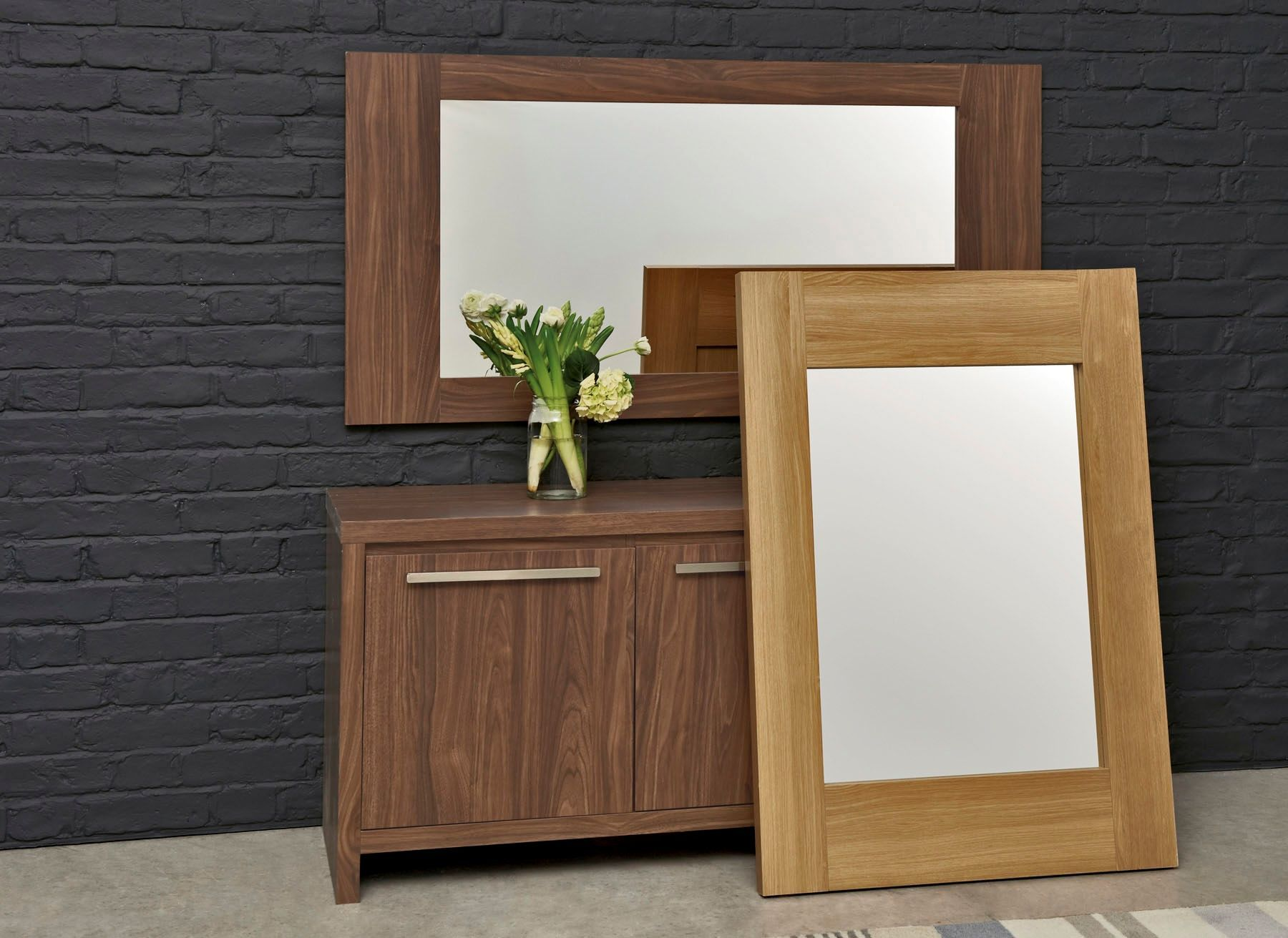 Buy Mode Walnut Large Mirror from the Next UK online shop