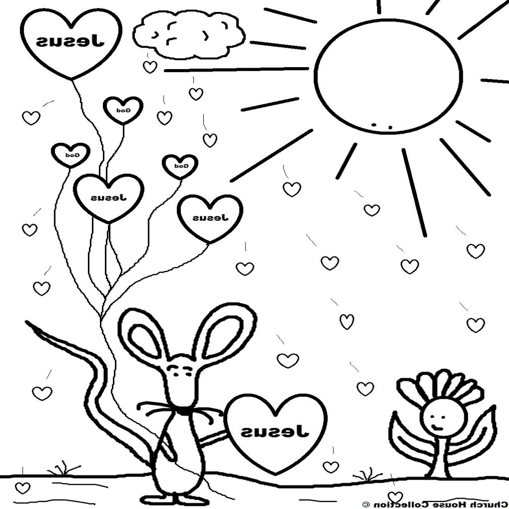 Children 039 S Church Coloring Pages