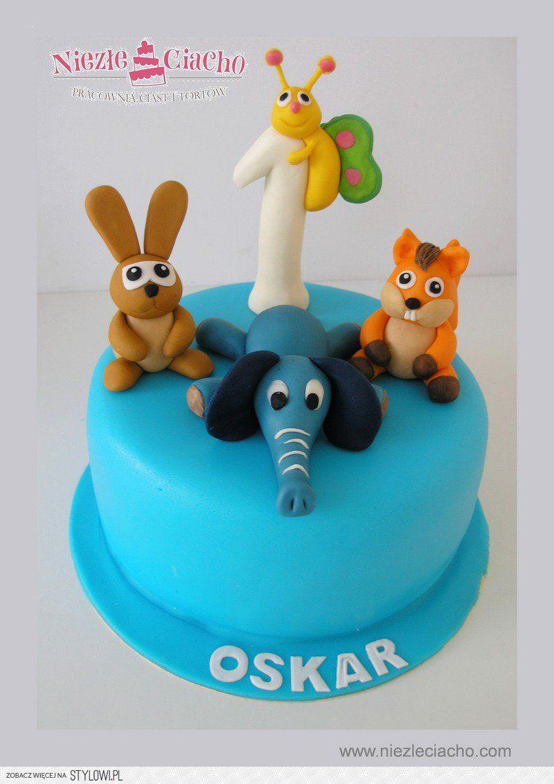 Zwierzatka Na Torcie Tort Bajkowy Torty Dla Dzieci Tort