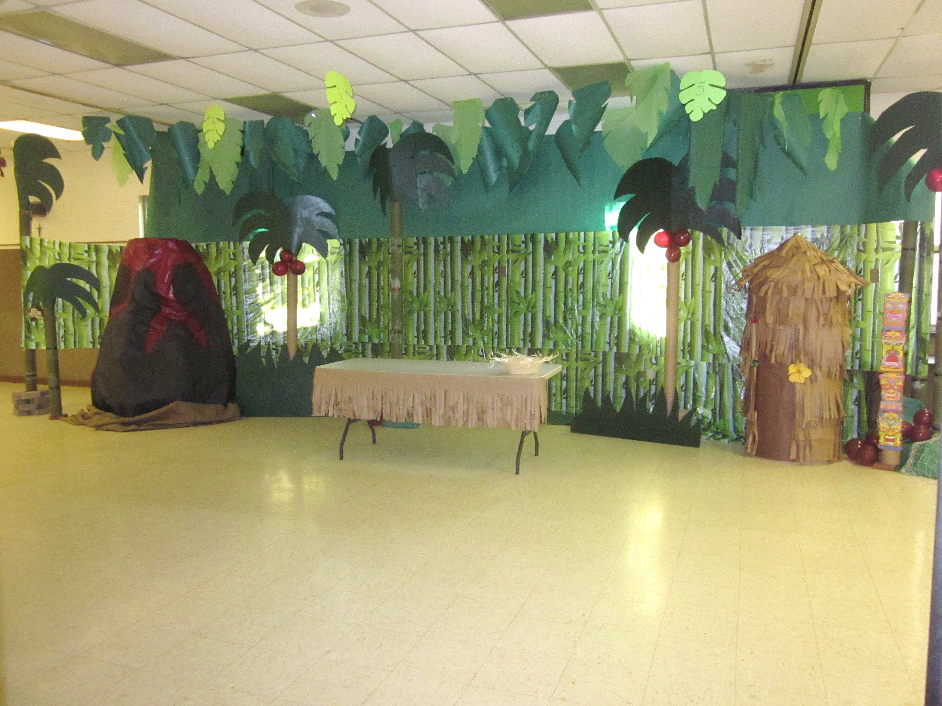 Lava Lava Island Decorations I Did For Our Vbs Hope This