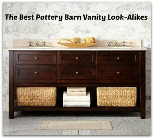 Pottery Barn Look Alike Bathroom Vanities With Images Classic