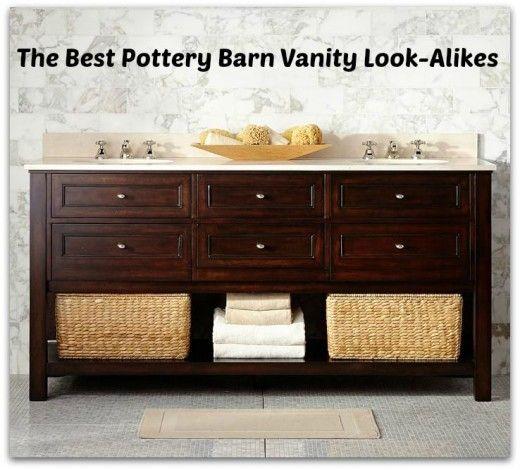 Pottery Barn Look Alike Single Sink Bathroom Vanities Classic Bathroom Design Bath Furniture New Bathroom Designs