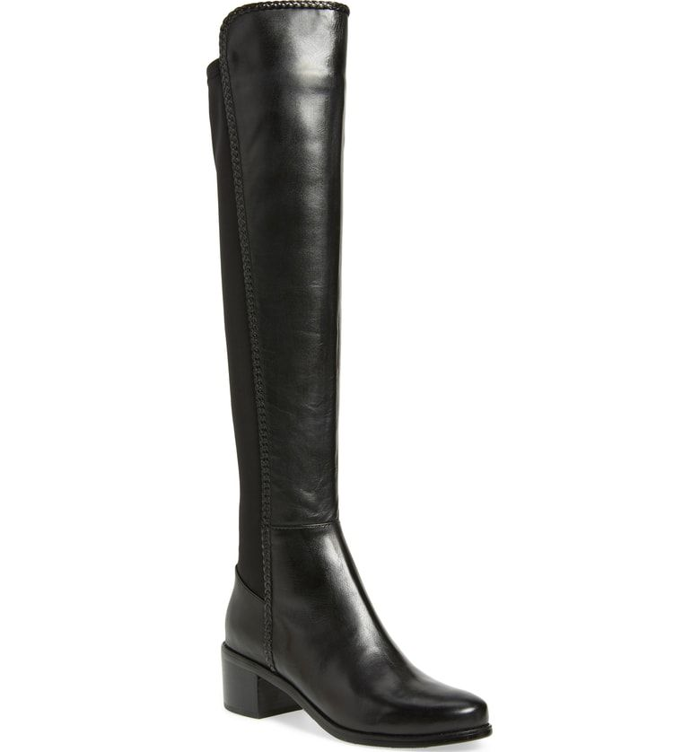 51eff695a8c Free shipping and returns on AquaDiva Florence Waterproof Over the Knee  Boot (Women) at Nordstrom.com. A sleek