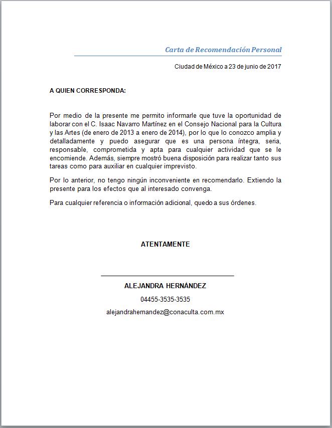 Trabajo Personal Trabajo Formato De Carta De Recomendacion Pin En Carta Recomendacion